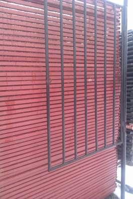 Садовые металлические ворота и калитки в Курске Фото 1