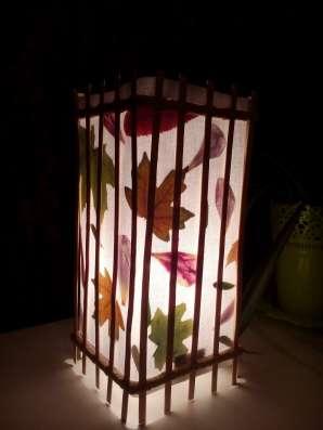 Светильники-ночники ручная работа