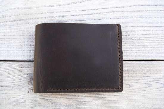 Кожаный кошелек в г. Северодонецк Фото 2