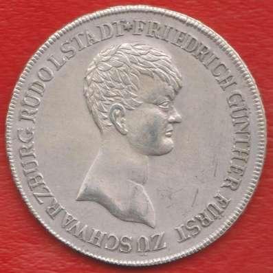 Германия Княжество Шварцбург-Рудольштадт талер 1812 г. в Орле Фото 2