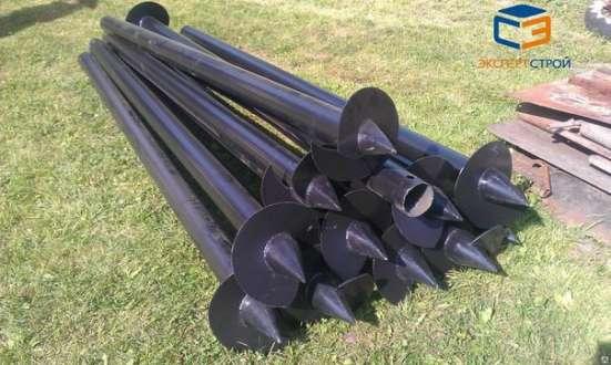 Винтовые сваи для фундаментов диаметр 76 мм