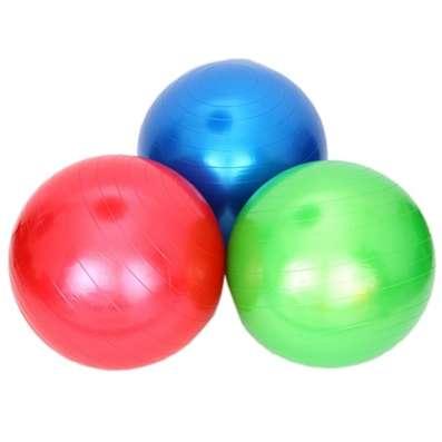 Мяч для фитнеса гимнастический, пвх, 75см