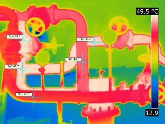 Проверка квартир, коттеджей тепловизором
