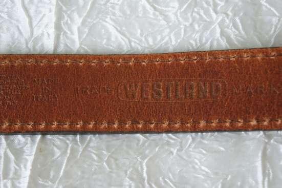 "Ремень ""Westland""- Made In ITALY"