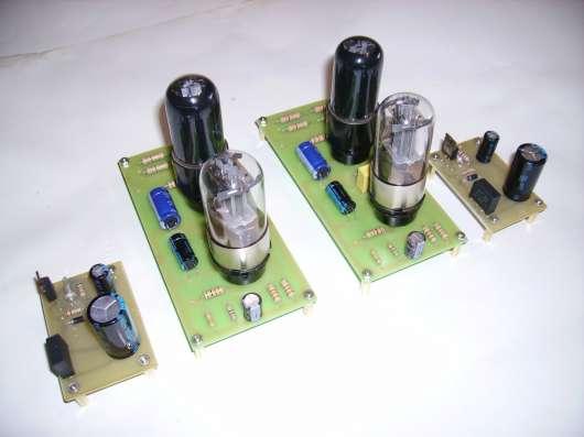 Однотактный усилитель на лампах 6Н8С-6П6С в г. Луховицы Фото 1