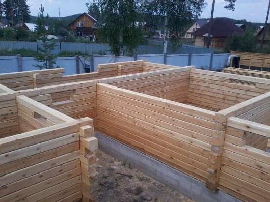 Срубы из строганного бруса в Екатеринбурге Фото 2