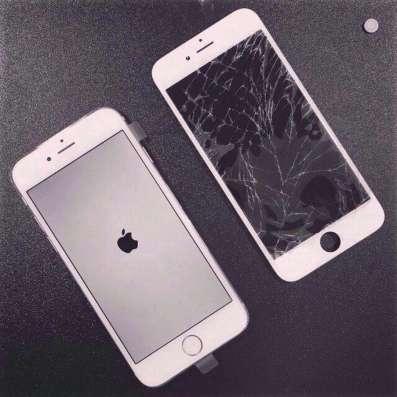 Замена стекла iPhone 4,4s5,5s,5c,6,6+