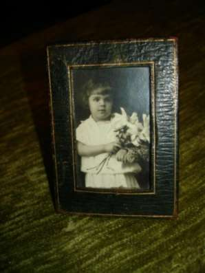 Старинная рамка-малютка,кожа,муар в Санкт-Петербурге Фото 5
