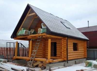 Сруб Дом Баня Фундаменты Крыша
