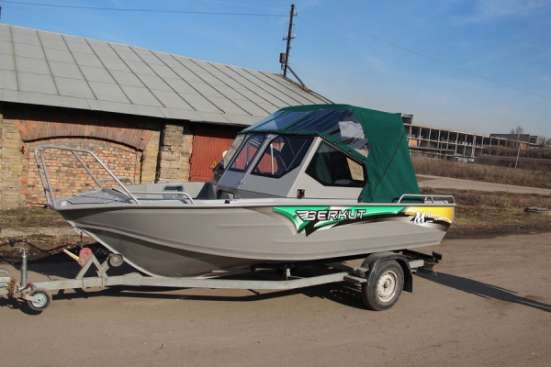 Продаем катер (лодку) Berkut M-TwinConsole в Ярославле Фото 2