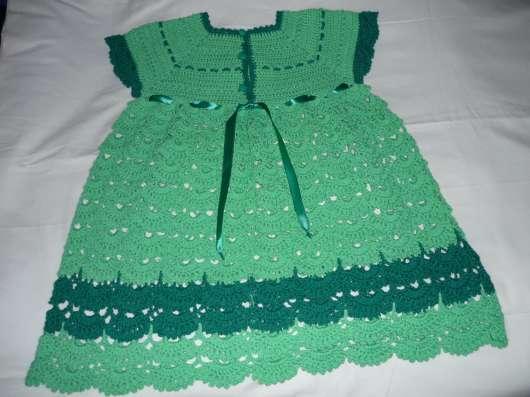 Платье связанное крючком в г. Вышний Волочек Фото 2