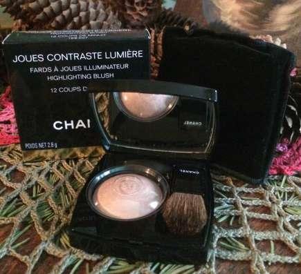 Chanel румяна хайлайтер оттенок 12 Coups de Minuit