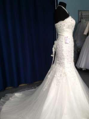 Свадебное платье-русалка (рыбка, годэ)