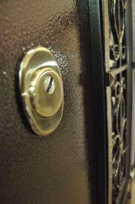 Дверь металлическая с элементами ковки в Йошкар-Оле Фото 1