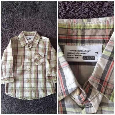 Новая рубашка Agree, 74 см
