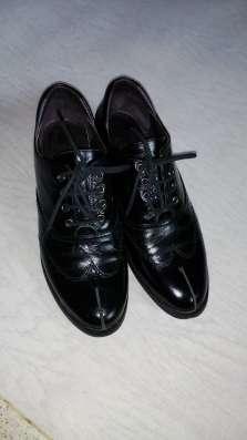 Кожаные туфли 35-р