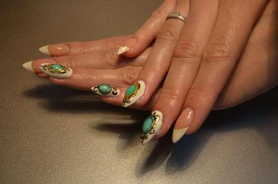 Наращивание ногтей (гель, акрил) в Красноярске Фото 3