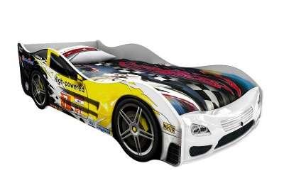 Домико Сигма 3D кровать-машина