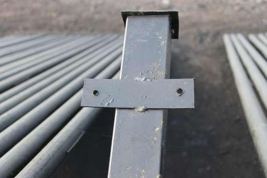 Столбы металлические для заборов от производителя