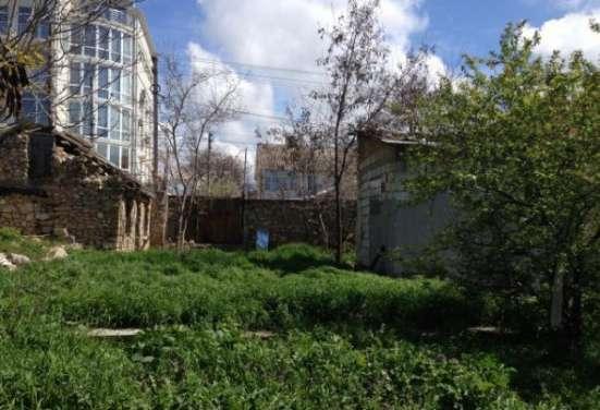 Участок 5,45 сот + 2,5 сот придомовая территория с домом под снос на ул. Матюшенко в г. Севастополь Фото 3