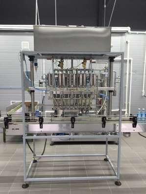 Автомат розлива минеральной воды до 3000 бут. час