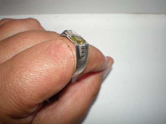 Авторский серебряный мужской перстень с гранатом Мали 19 р