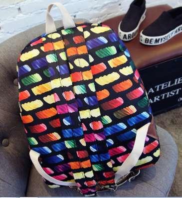 Рюкзак городской Bricks разноцветный цветной в г. Запорожье Фото 1