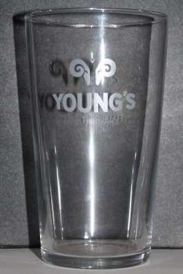 Брендированные бокалы для пива Young's (Янг'с) 0.5 литра