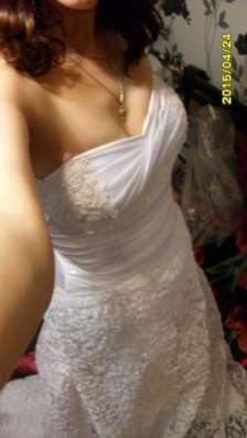 свадебное платье р-р 44-46