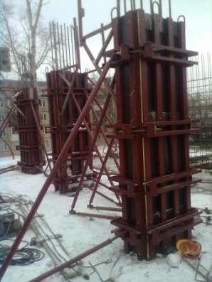 Опалубка КОЛОНН в Новосибирске Фото 3