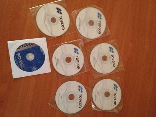 Операционные диски с программами Topcon