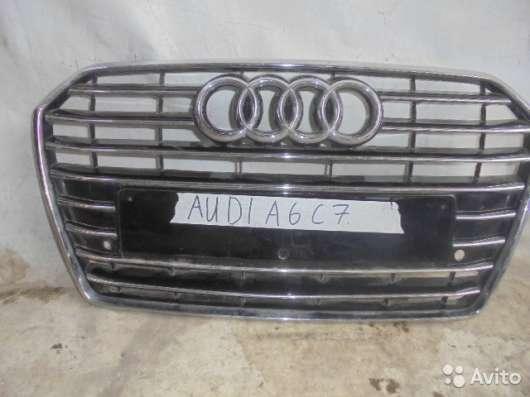Решетка радиатора на Audi A6 C7