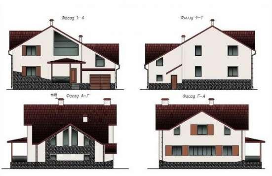 Эскизный проект дома в Минске