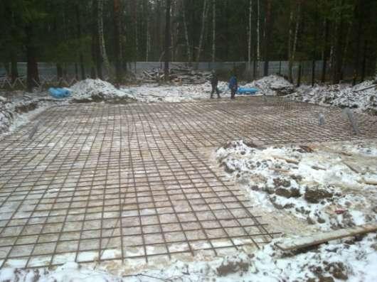 Заливка фундаментов, фундаментные работы в зимой