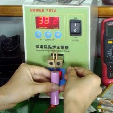 Аппарат для точечной сварки с блоком питания