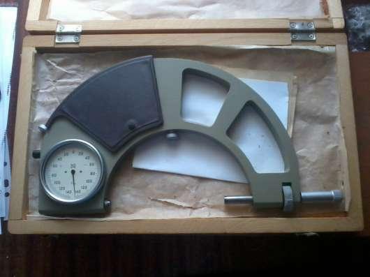 Микрометр гладкий МК400 кл 1 ц д 0.01 в Москве Фото 3