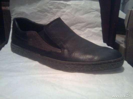 Новые кожанные туфли 42 размер