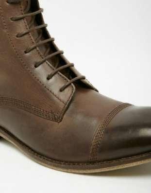 Великолепные кожаные ботинки 47 размера Английская компания в Москве Фото 1