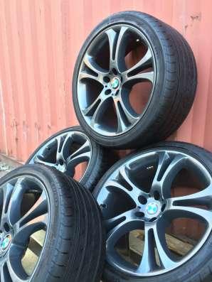 Комплект оригинальных колес BMW X5 X6 21 радиуса