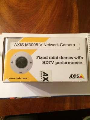 Фиксированная купольная сет. камера AXIS M3005-V в г. Королёв Фото 1