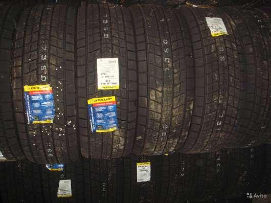Новые липучки Dunlop 225/70 R15 Winter Maxx SJ8