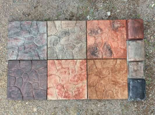 Плитка тротуарная, фасадная облицовочная