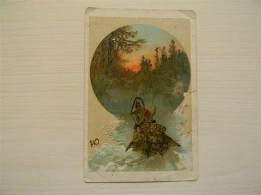 Почтовые карточки 1-ой трети 20 века-5 шт в г. Ереван Фото 1