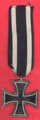 Германия Железный крест 2 класс Вильгельм ПМВ 1914 в Орле Фото 2