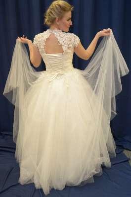 Пышное свадебное платье Анастасия