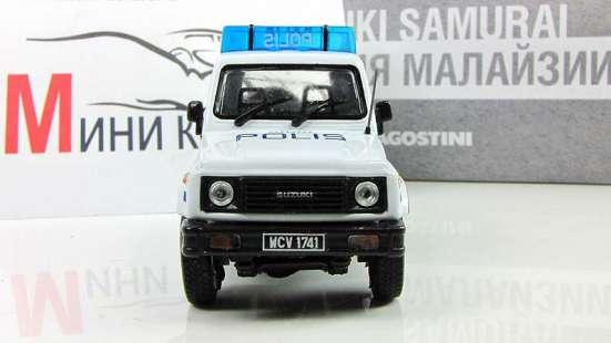 Полицейские машины мира №33 SUZUKI SAMURAI полиция малайзии в Липецке Фото 4