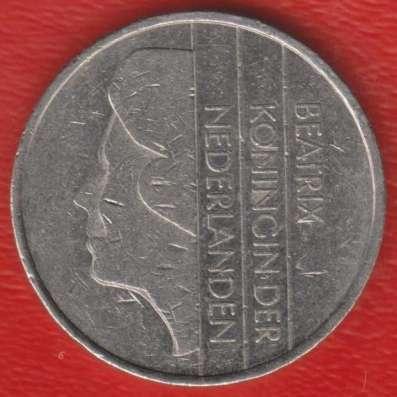Нидерланды Голландия 1 гульден 1987 г