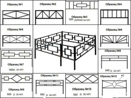 Ограды В ТАМБОВЕ