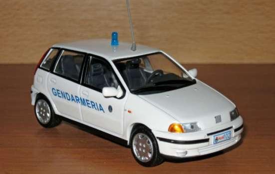 полицейские машины мира №40 FIAT PUNTO SX в Липецке Фото 6