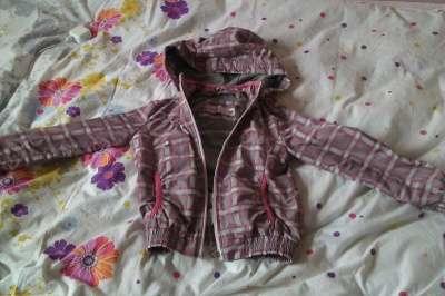 куртка для девочки 4-6 лет